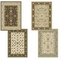 "Traditional Oriental Vines Area Rug 5x8 Persien Border Carpet - Actual 5'2""x7'2"""