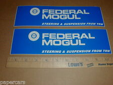 Federal Mogul Steering TRW New Nascar Drag racing contingency decal sticker Lot