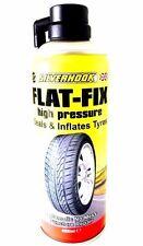 Neumáticos plano 450ml silverhook Fix-emergencia de reparación de pinchazos-Sellos y se infla,
