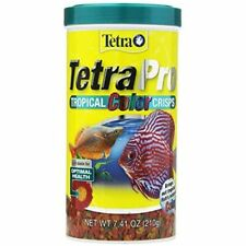 New listing Tetra 77080 Pro Tropical Color Crisps, Fish Food With Natural Color