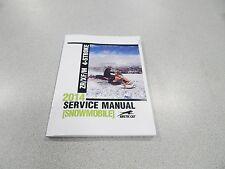 ARCTIC CAT SNOWMOBILE 2014 ZR/XF/M 4-STROKE SERVICE MANUAL 2260-188