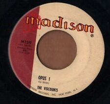 MADISON instro rock 45  THE VISCOUNTS - Little Brown Jug + Opus 1