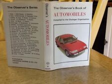 Observers Book Of Automobiles 1977: