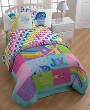"Disney/pixar Inside Out ""rainbow Patchwork"" Comforter, Twin/Full"