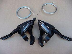 Shimano 21 speed Rapid Fire St-EF500 Gear Shifters Bike Bicycle MTB Hybrid   TGR