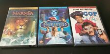 Family Dvd Lot Chronicles Of Narnia Cop And A Half & Enchanted Tested Free S&H