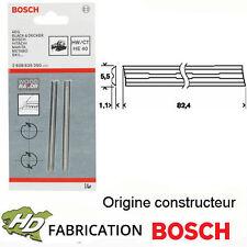 2 HM tournant couteau//Rabot couteau pour Bosch rabot PHO 15-82//pho15-82