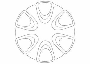 Genuine Ford Wheel Cover CV6Z-1130-A