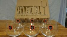 Riedel The Wine Glass Company Stemless Wine Glasses Set Of 6 NEW UNUSED