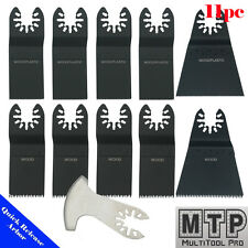 11 Saw Blade Oscillating Multi Tool Fein Multimaster Porter Cable Makita Dremel