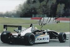 Bruno Senna Hand Signed Raikkonen Robertson Racing 9x6 Photo 1.