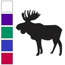 Moose Decal Sticker Choose Color + Size #466