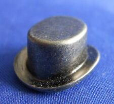 Monopoly Retired Top Hat Gunmetal Replacement Game Token Piece Part Mover