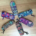 Vera Bradley ~ On a Roll cosmetic Case ~ zipper closure ~ NEW