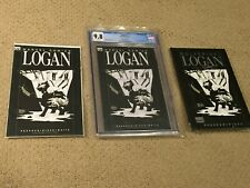"Logan 1 CGC 9.8 White Wolverine Black Cover (""Logan"" Movie- NOT NYX 3) + Extras"