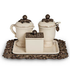 GG Collection Acanthus Coffee Container Set