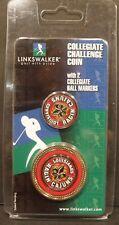 New listing NCAA Louisiana's Ragin Cajuns Collegiate Challenge Coin W/2 Collegiate Ball Mark