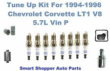 Chevrolet Corvette LT1 V8 5.7L Spark Plug, Oil Filter, Fuel Filter, Transmission