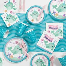 Narwhal Party Supplies Kit