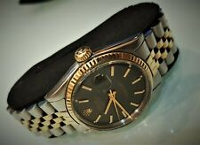 ROLEX  Oyster Datejust    1600   Dial black   CAL. 1570   Steel/Gold   1970