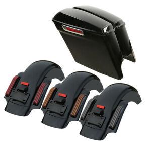 """5"""" Extended Saddlebag Rear Fender Fit For Harley Touring Street Glide 14-20"""