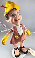 "14"" Antique American Composition Walt Disney's Pinocchio Doll! 18081"