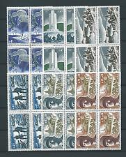 LIBÉRATION - 1969 YT 1603 à 1608 blocs de 4  - NEUFS** LUXE - COTE 36,00 €