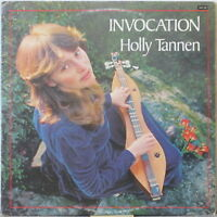 HOLLY TANNEN Invocation LP Top Folk w/ Dulcimer