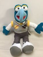 Disney Store The Muppets Gonzo - Soft Plush Stuffed Teddy Toy Doll With Tags.