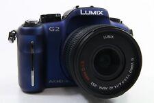 Panasonic Lumix DMC-G2 Kit blau, top Zustand, 7400 Auslösungen