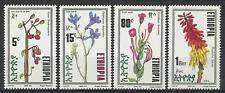 ETHIOPIA 1992 FLOWERS SET MINT