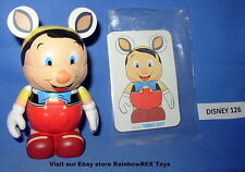 "DISNEY VINYLMATION 3"" ANIMATION SERIES 1 PINOCCHIO with CARD"