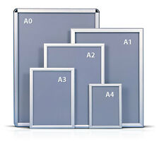 A0a1a2a3a4 Snap Frames Poster Clip Holders Displays Retail Wall Notice Boards