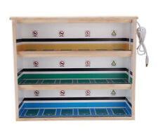 1/64 DIY Car parking lot scene garage Car model solid wood display cabinet