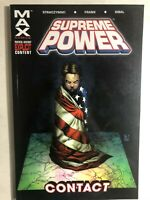 SUPREME POWER volume 1 Contact (2004) Marvel MAX Comics TPB 1st FINE-