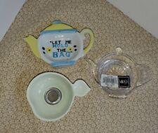 Tea Bag Holders And Tea Strainer