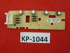 Siemens SIWAMAT 8060 elettronica 306 4067 aa3 Command Unit #kp-1044