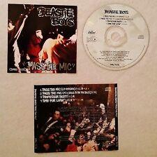CD - BEASTIE BOYS - PASS THE MIC EP - CAPITOL RECORDS ORIGINAL PROMO