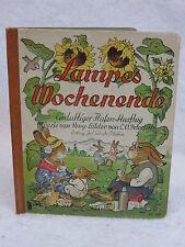Jof. Scholz  LAMPES MOCHENENDE  Illustrated by C.O. Petersen GERMAN
