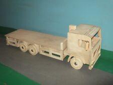 1:16th Scale Volvo F 6x4 Rigid Flatbed Wooden Model Truck
