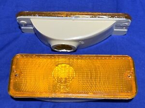 FORD F-150 250 350 SERIES YEAR 1973- 1977 AMBER FRONT TURN SIGNALS New ACRYLIC
