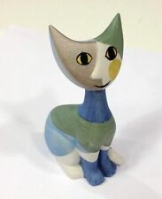 Zeitgenössisches Porzellan mit Katzen-Motiv