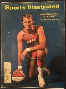 8.24.1970 RICK BARRY Sports Illustrated VIRGINIA SQUIRES ABA NBA HOF Vintage Ads