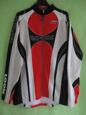 Maillot cycliste LOOK Pro team Intégral Rouge Sport Jersey Veste Vintage - L
