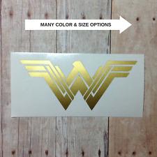 NEW Wonder Woman Logo Vinyl Car Decal Sticker   Laptop Phone Tumbler Window SUV