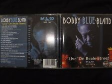 CD BOBBY BLUE BLAND / LIVE ON BEALE STREET /
