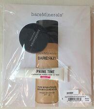 Bare Minerals Gift Set: Fairly Light Veil Prime Time Original Primer Travel Siz)