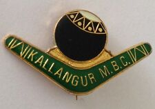 Kallangur Bowling Club Badge Rare Boomerang Design Vintage (K2)
