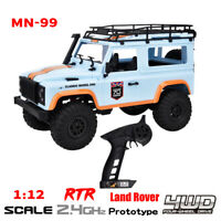 MN-99 2.4G 1/12 Scale 4WD Crawler RC Car Off-road Vehicle RTR Kids Toy Gift