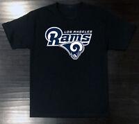 Los Angeles Rams T-Shirt Graphic Cotton Logo LA Adult Men